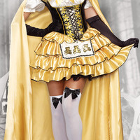 Little Yellow Riding Hood Custome