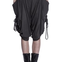 Oversized Drape Pants