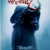 Batman Dark Knight Movie Poster Why So Serious? (Style #9347)