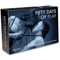 Fifty Days of Play Based on 50 Shades of Grey Adult Board Bedroom Couples Game