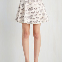A-line Has a Nice Wing to It Skirt