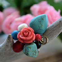 Country Chic Bouquet Ring