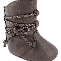Brown Lil Clementine Booties