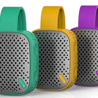 Water Resistant Bluetooth Outdoor Speaker Portable Built-in Microphone 12 hrs of Playtime