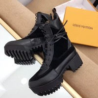 Louis Vuitton LV Women Casual Fashion Martin Boots Shoes