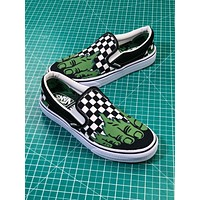 2018 Marvel X Vans Hulk Slip On Sneakers