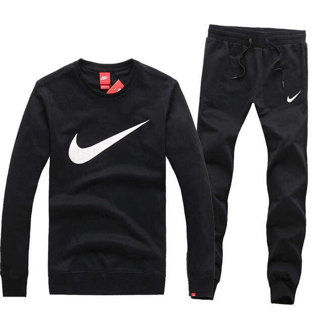 Image of Trendsetter NIKE Women Men Lover Top Sweater Pants Trousers Set Two-Piece