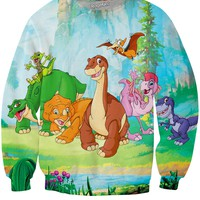 The Land Before Time Gang Crewneck Sweatshirt