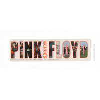 Pink Floyd - Echoes Bumper Sticker on Sale for $2.99 at HippieShop.com
