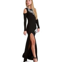 Nelly- Black Homecoming Dress