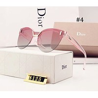 DIOR 2018 half frame design fashion avant-garde female polarized sunglasses F-A-SDYJ #4