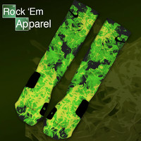 Custom Nike Elite Socks - Heisenbergs | Rock 'Em Apparel