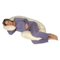 Leachco Snoogle Chic Total Body Pillow (Jersey Knit - Heather Grey)