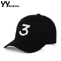 Hip Hop Chance The Rapper Chance 3 Cap Hat Letter Embroidery Baseball Cap Streetwear Strapback Snapback Gorras Casquette YY60556