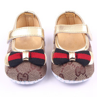0-12M Butterfly Knot Baby Shoes First Walker Toddler Girl Shoes For Newborn Shoes Bebe Sapatos Infantil Menina F1