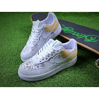 2018 Nike Air Force 1 Low Premium 100th White Sport Shoes Sneaker-1
