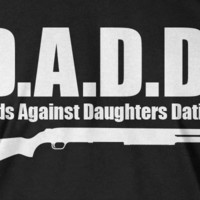 D.A.D.D. Dad T-Shirt DADD Christmas Gift For Dad Father Fathers Day Tshirt T-Shirt Tee Shirt Mens Kids Geek Funny