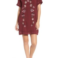 Love, Fire Embroidered Dress | Nordstrom