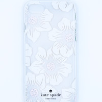 Kate Spade New York Hardshell Clear iPhone 7 Case - Hollyhock Floral
