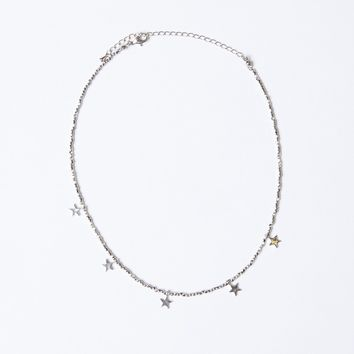 Delicate Stars Choker Necklace