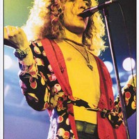 Led Zeppelin Robert Plant March 1975 Poster 24x33