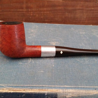 Vintage Dr Grabow Viscount  #50 Imported Briar Ajustomatic Great Tobacco Pipe Smoking Enthusiast Gift Decor