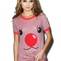 Wildfox Couture Rudy Vintage Ringer Tee | Dolls Kill