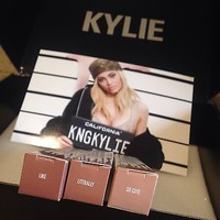 Kylie Cosmetics Gloss Complete Set of 3 Like Literally Cute