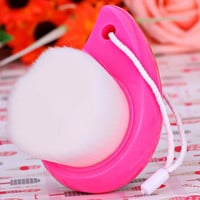 7012 Soft Facial Cleasing Brush Deep Clean Pore Face Washing Cleaning Brush