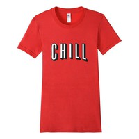Aurlex Tees - Netflix and Chill Funny Tee American Apparel