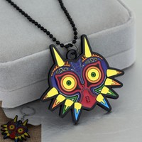 The Legend of Zelda owl Black necklace keychain cosplay costume Accessories PendantKawaii Pokemon go  AT_89_9