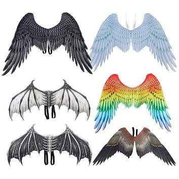 Rainbow Pride Angel Wings Non-Woven Fabric
