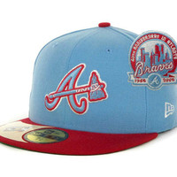 Atlanta Braves MLB Cooperstown Patch 59FIFTY Cap