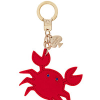Kate Spade Kate Spade Key Fobs Crab Keychain Red ONE