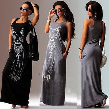 Casual Long Maxi Evening Party Dress