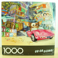 1984 Gremlins Gizmo Jigsaw Puzzle - Vintage Movie Game by Springbok - NOS New in Box