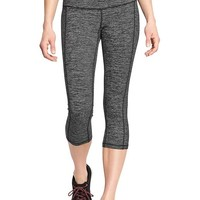 Women's Old Navy Active Microstripe Compression Capris