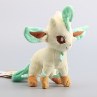 "8"" Leafeon Pokemon Plush"