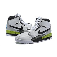 Air Jordan Legacy 312 NRG - White/Black/Green