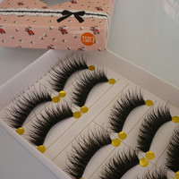 New Natural Long Thick Eye Lashes Party False Eyelashes Eye Lashes Makeup HB = 1945953284