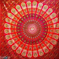 Tapestry Wall Hanging Queen Size Indian Boho Bohemian Hippie Floral Mandala