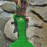 Real Swimmable Mermaid Tail Swimmable By AquaTails