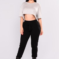 On The Daily Basic Jogger - Black