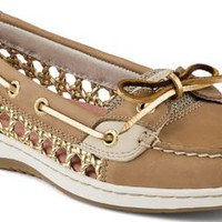 Sperry Top-Sider Angelfish Cane Woven Boat Shoe LinenOatCane, Size 9.5M  Women's Shoes