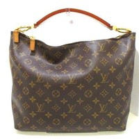 Auth LOUIS VUITTON Sully PM M40586 Monogram Canvas CA2102 Shoulder Bag