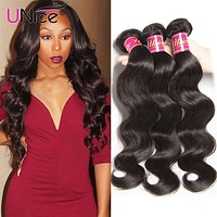 Indian Hair Body Wave Human Hair 1 Piece Remy Hair Extensions 8-30inch Can Mix Any Length