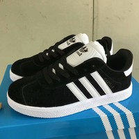 """""""Adidas"""" Unisex Sport Casual Multicolor Stripe Plate Shoes Couple Fashion Sneakers"""