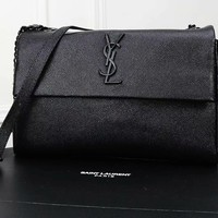 YSL Yves Saint Laurent Women BLACK handbags Evening Cross body Bag, Designer Shoulder Bag for Women, Fashion Bee Crossbody Bag Handbags with Chain