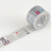 mt EX Washi Tape Single Newspaper