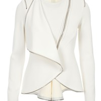 Givenchy Zip Trim Jacket - - Farfetch.com